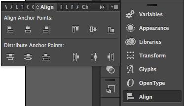 Alignment Panel