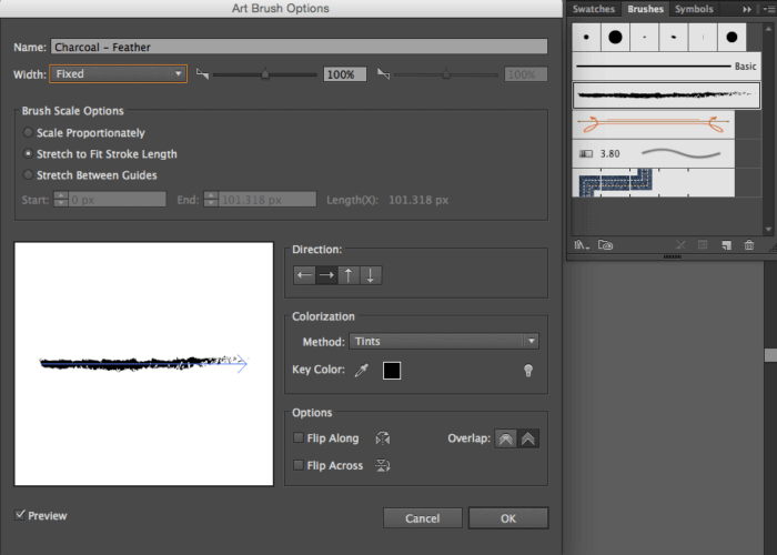 Design 101: Using Brushes in Adobe Illustrator & Photoshop - Red