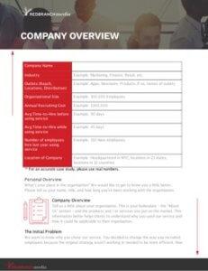 RBM branded header example