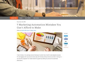 hubspot automation article header