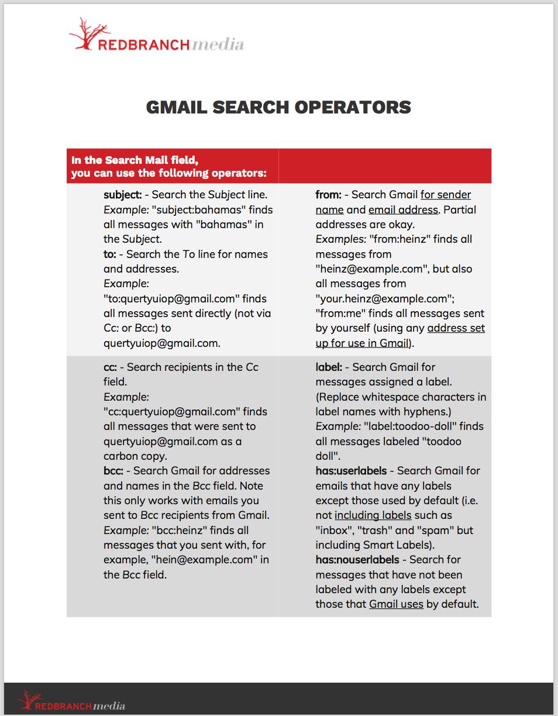 Gmail power scripts