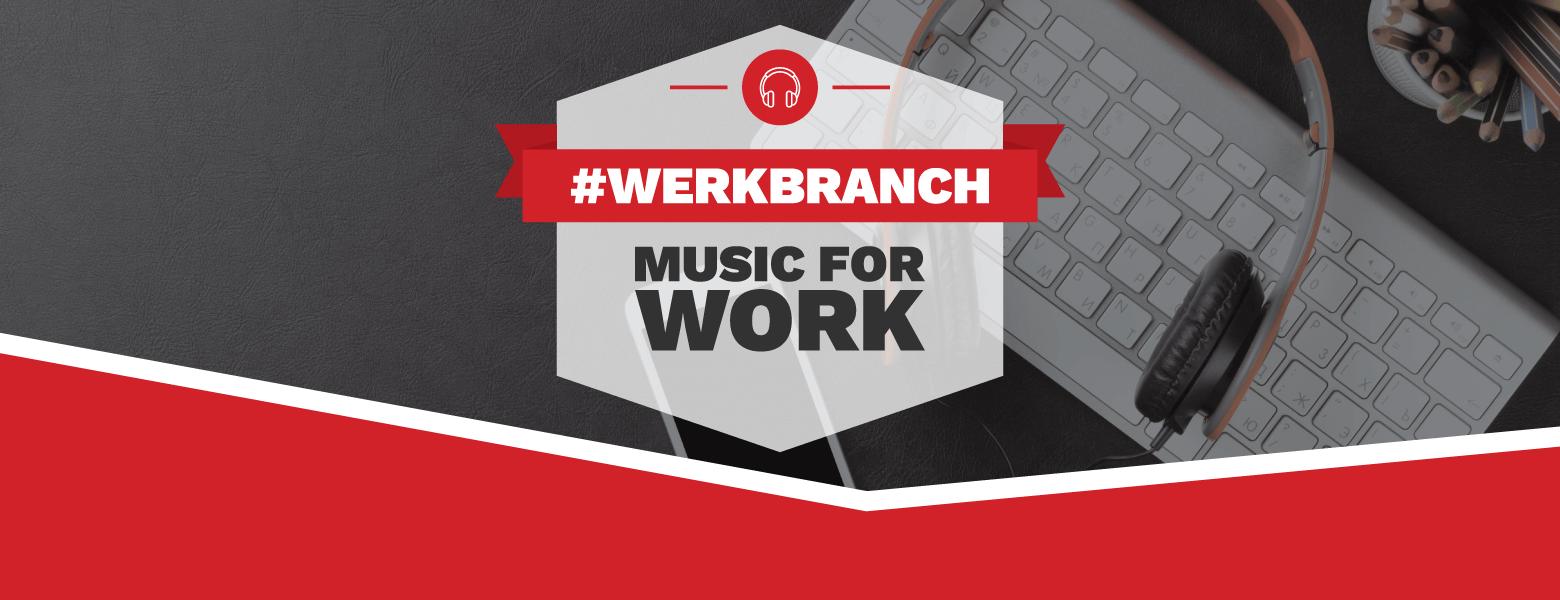 Red Branch Media #WerkBranch productivity playlist cta