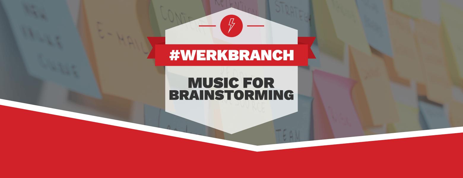 Music for brainstorming banner