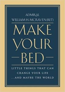 mcraven make your bed cover