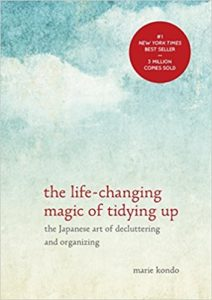kondo life-changing magic of tidying up cover