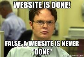 dwight b2b websites are never done