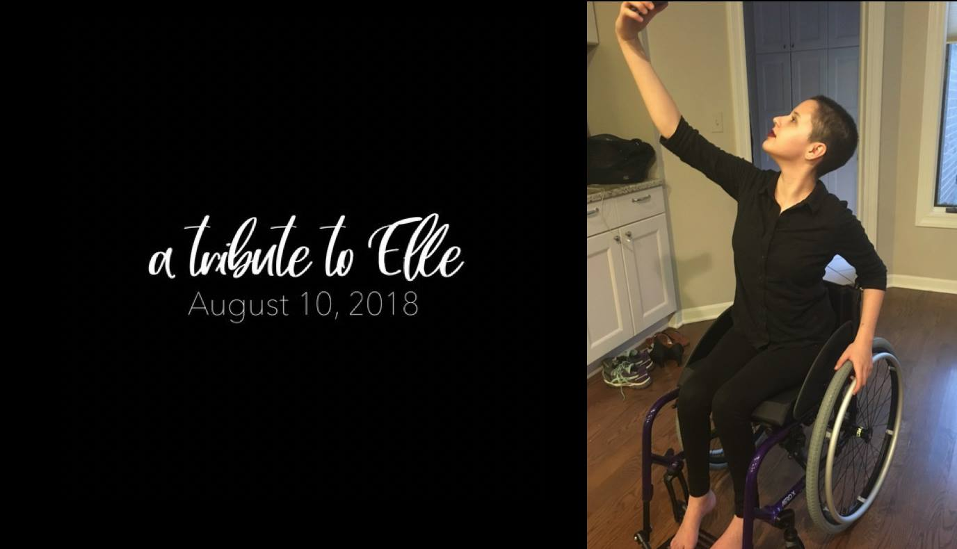 A tribute to elle fundraiser