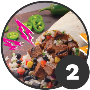Section two of Qdoba Ad Design dissection