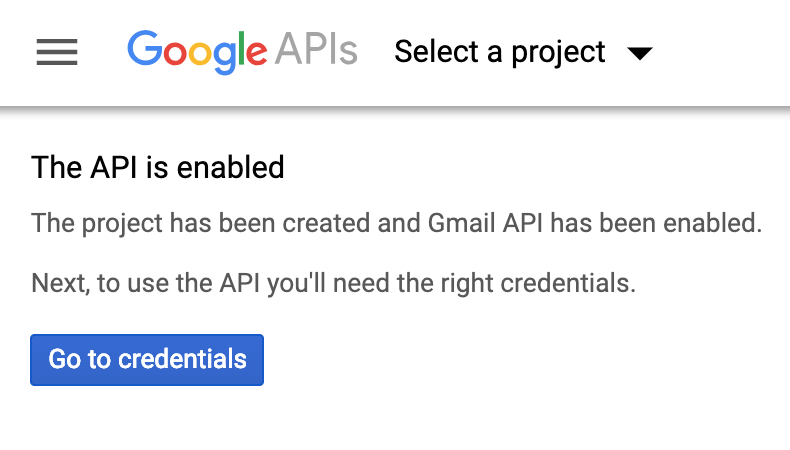 Google Instructions for Form notifications
