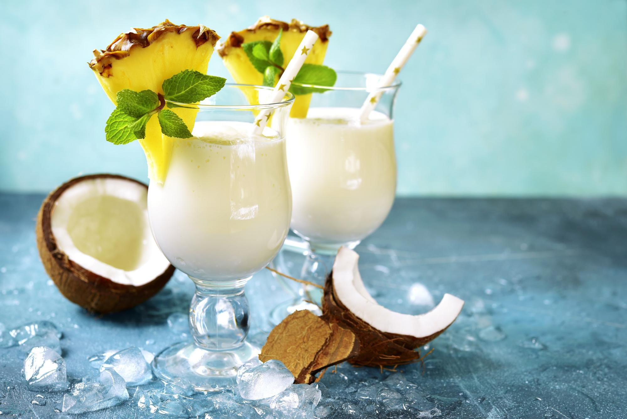 Pina colada in the Red Branch quarantine cookbook