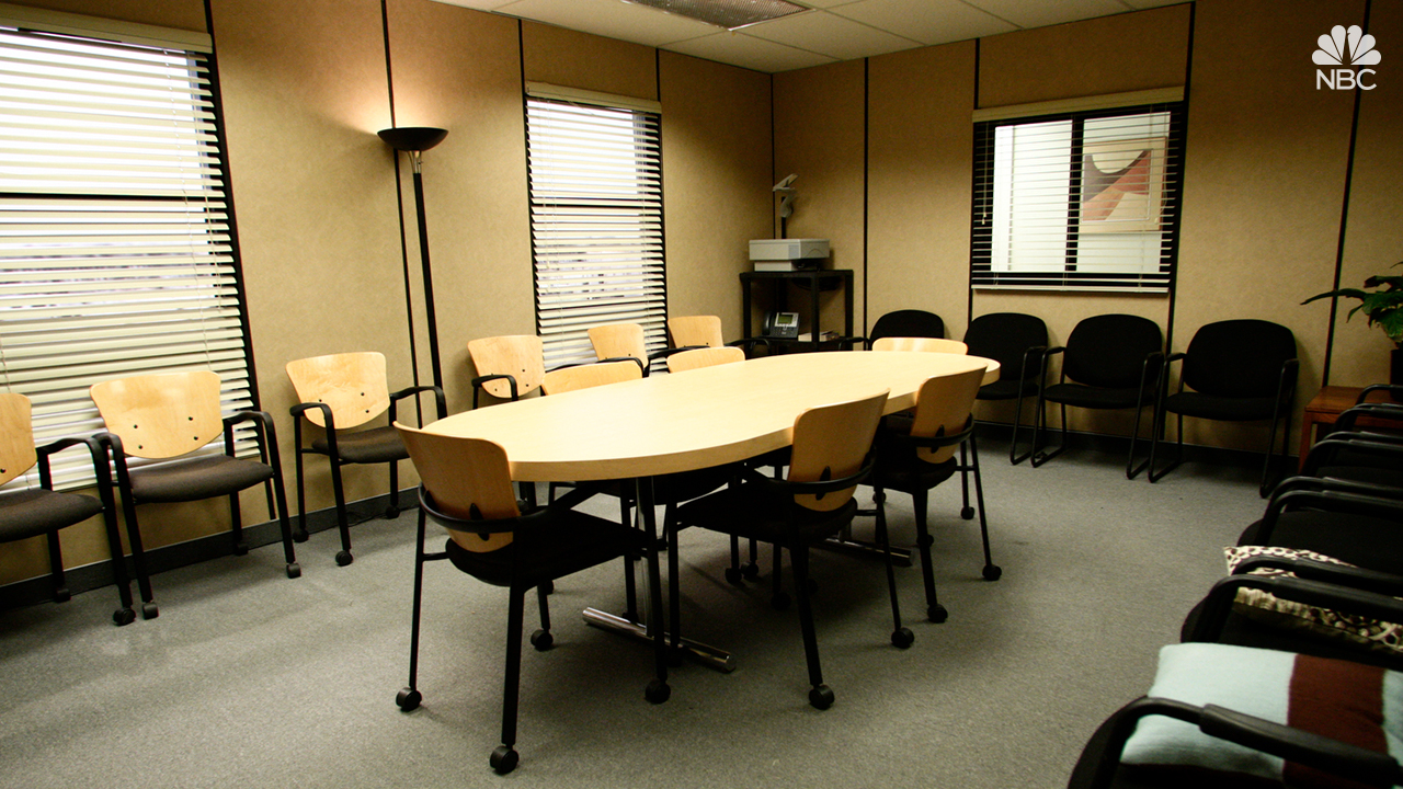 The Office conference room
