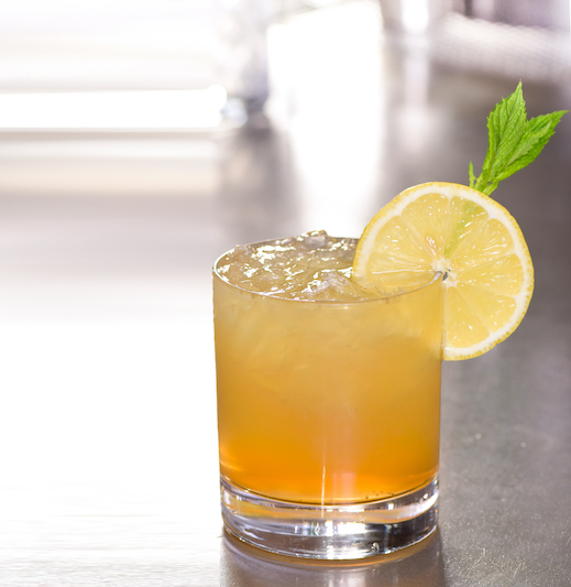 virtual happy hour whiskey lemonade