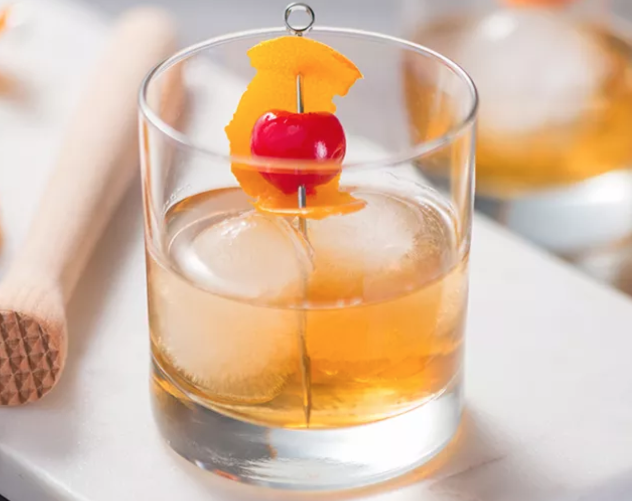 Old Fashioned for virtual happy hour