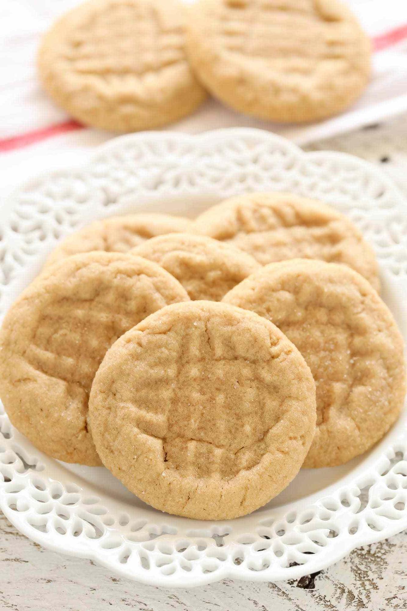 Red Branch Quarantine Cookbook peanut butter cookies