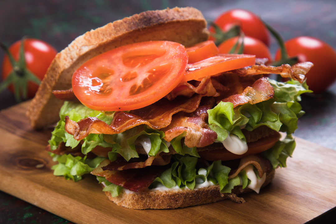 BLT recipe in the Red Branch quarantine cookbook