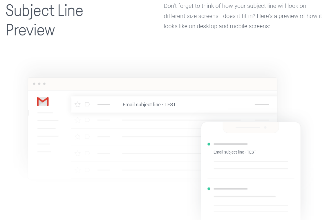subject line preview